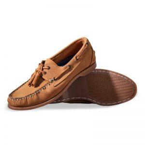 Zapato-Top-Sailer-Original-Estilo-Marinero-Color-Bronce