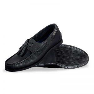 Zapato-Top-Sailer-Original-Estilo-Marinero-Color-Negro