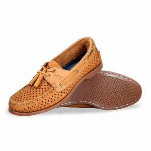 Zapato-Top-Sailer-Original-Estilo-Marinero-Color-Honey-Perforado