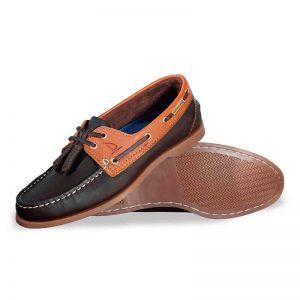 Zapato-de-Piel-Top-Sailer-Original-Estilo-Marinero-Color-Cafe-Miel