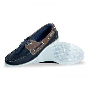 Zapato-de-Piel-Top-Sailer-Original-Estilo-Marinero-Color-Marino-Gris