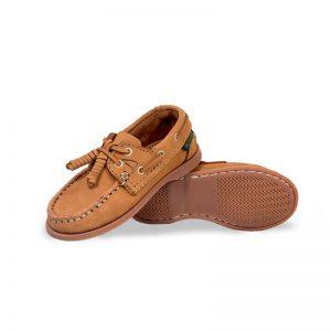 Zapato-Top-Sailer-Original-Estilo-Marinero-Color-Bronce-Nino