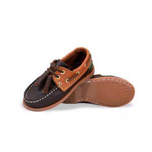 Zapato-Top-Sailer-Original-Estilo-Marinero-Color-Cafe-Miel-Nino